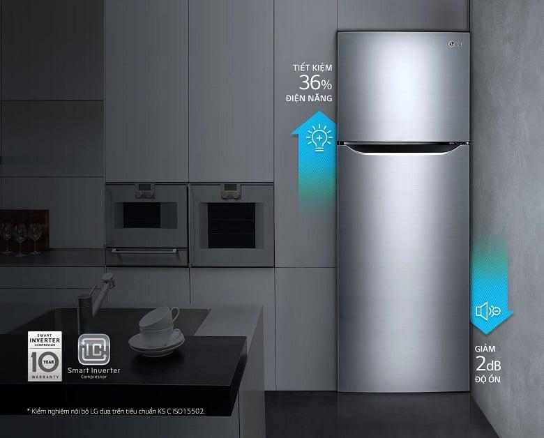 Tủ Lạnh Inverter LG GN-L205S