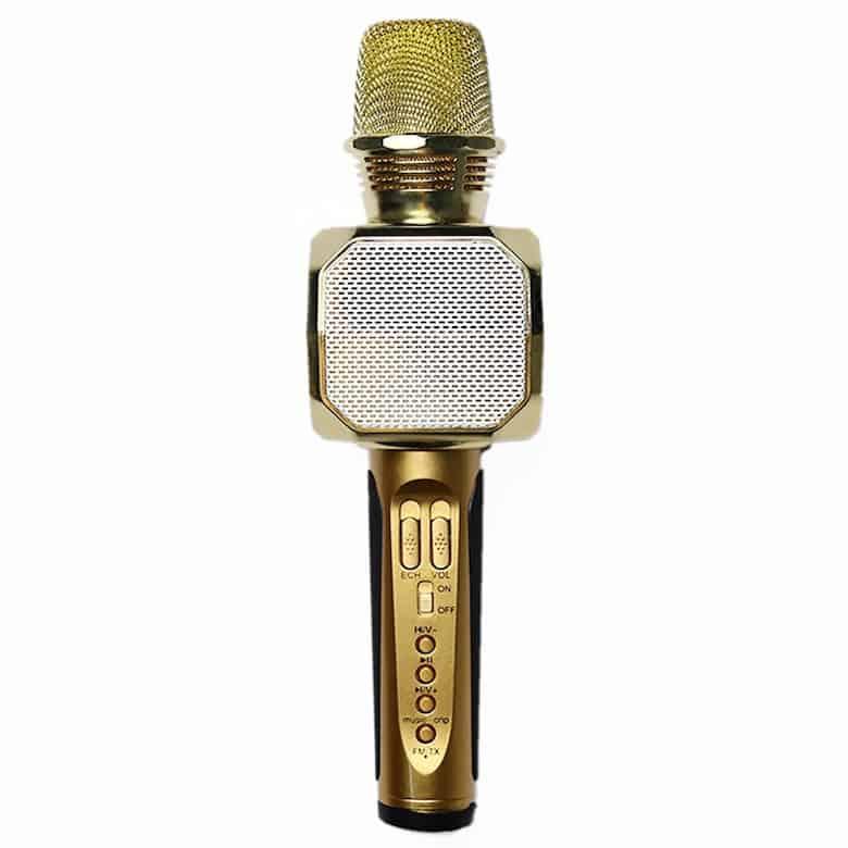 Micro Karaoke Kèm Loa Bluetooth SD10 (Màu ngẫu nhiên) - Hàng Nhập Khẩu