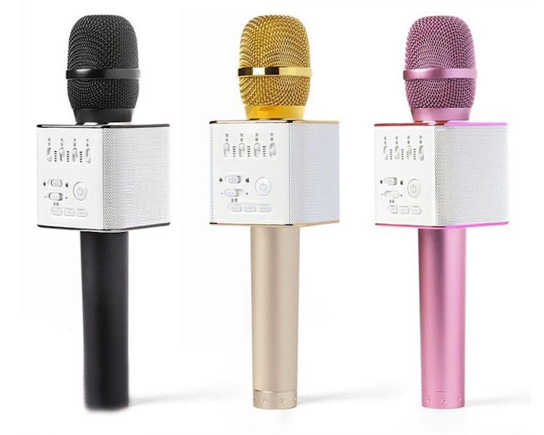 Microphone Karaoke Bluetooth MICGEEK Q9