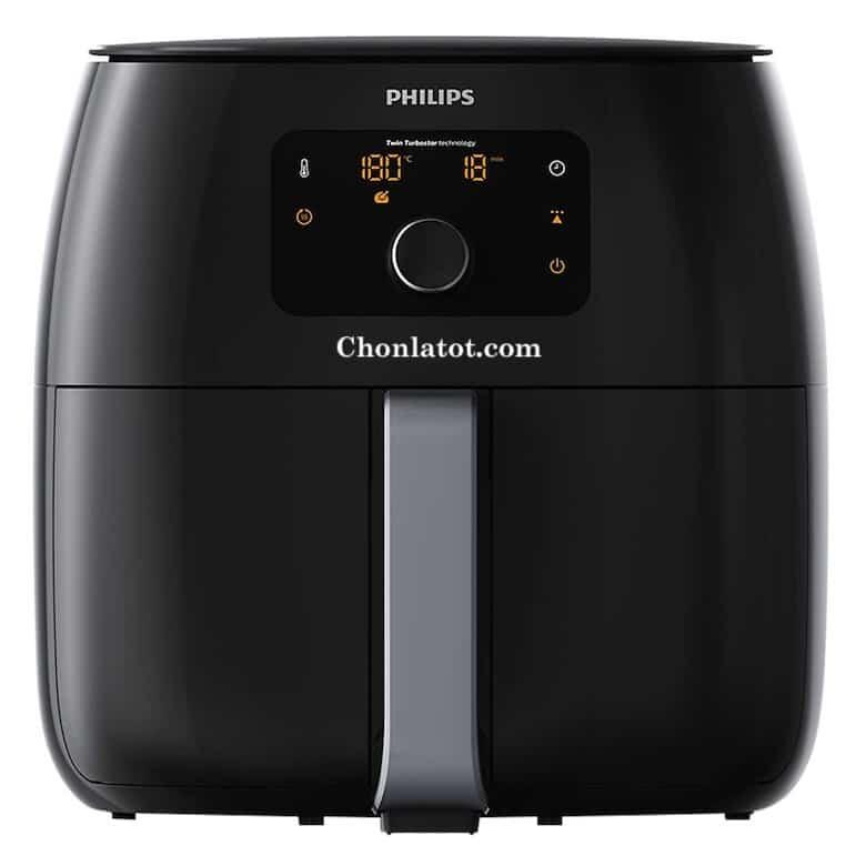 Nồi Chiên Không Khí Điện Tử Philips HD9650/91 XXL