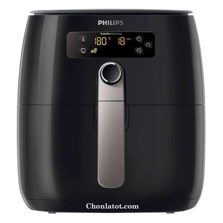 Nồi Chiên Không Dầu Philips HD9643 - Đen