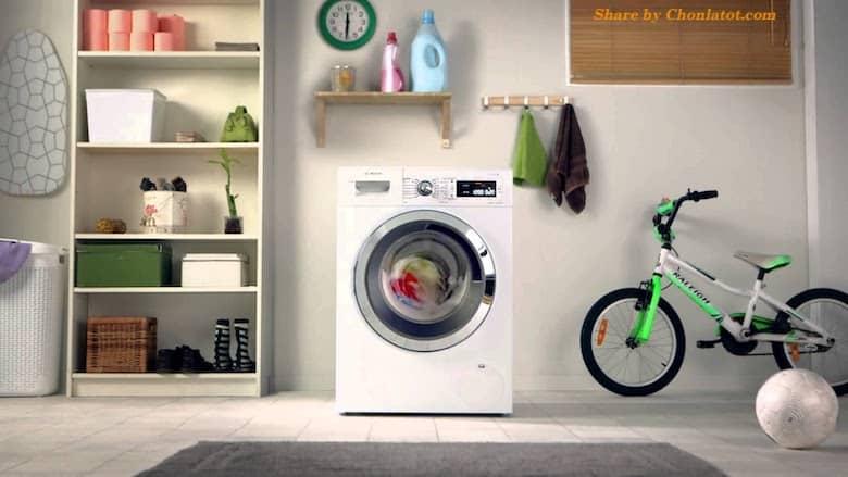 Kích thước máy giặt của trước chuẩn