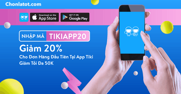 Mã giảm giá Tiki cho khách hàng mới
