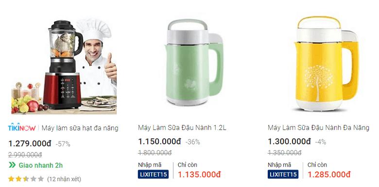 Top 3 Máy làm sữa hạt OEM
