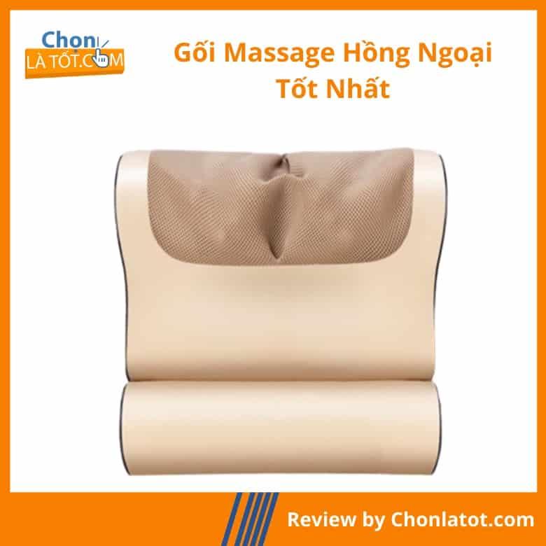 Gối massage hồng ngoại Jinkairui 8 bi