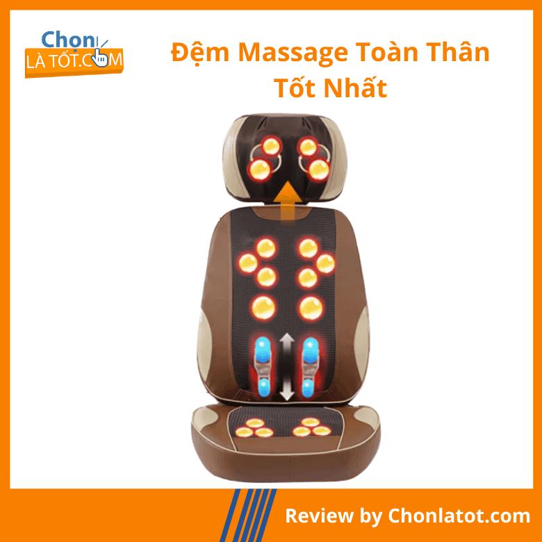 Đệm massage toàn thân 5D