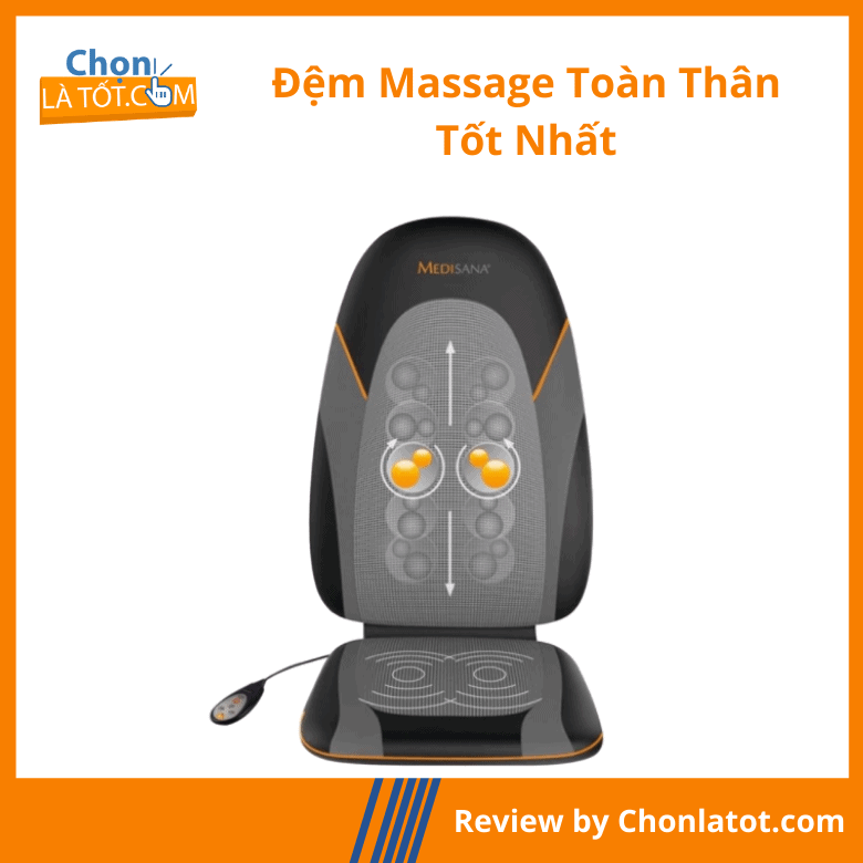 Đệm massage toàn thân Medisana MC830